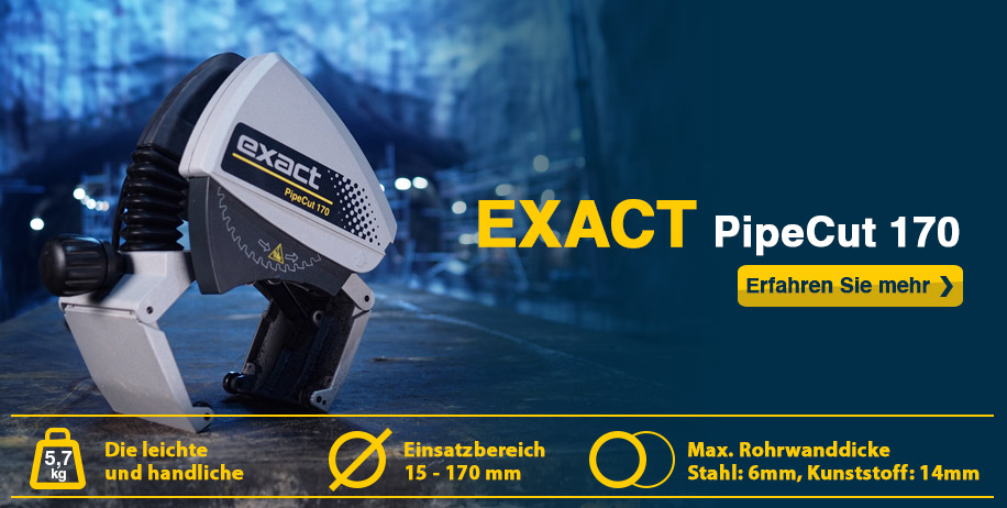 exact pipecut 170